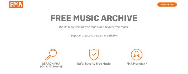 FMA, descargar musica gratis y legal