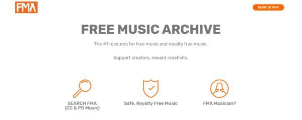 FMA, descargar musica gratis y legal