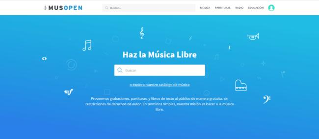 musopen, descargar musica gratis y legal