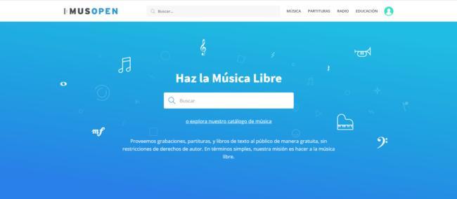 musopen, descargar musica gratis y legal
