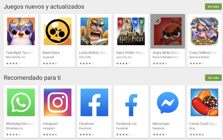 actualizar play store de google