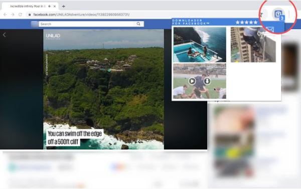descargar videos facebook con extension de chrome