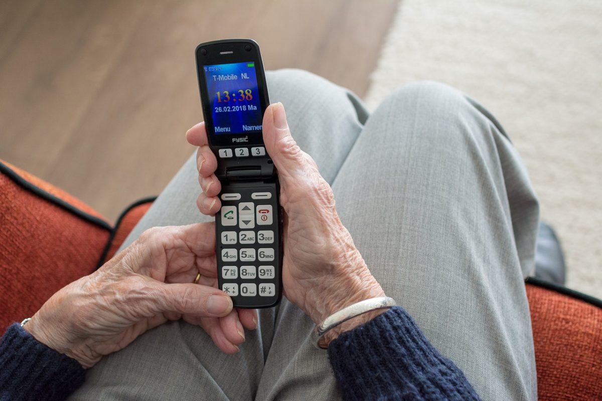 móvil para adultos mayores