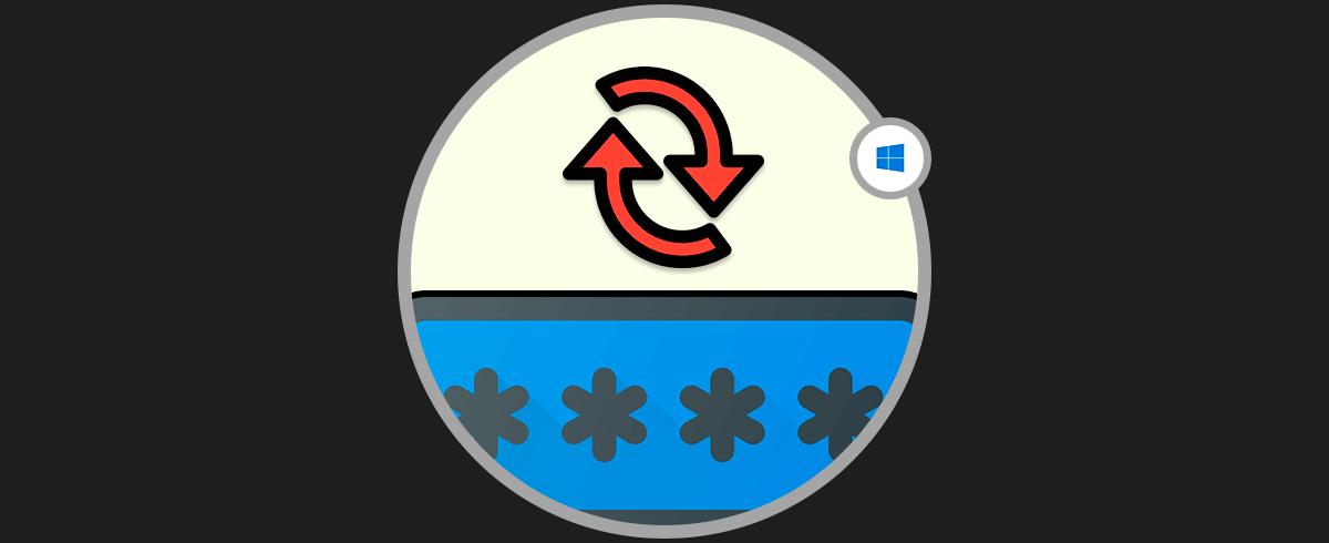 cómo restablecer la contraseña en Windows 10 sin formatear