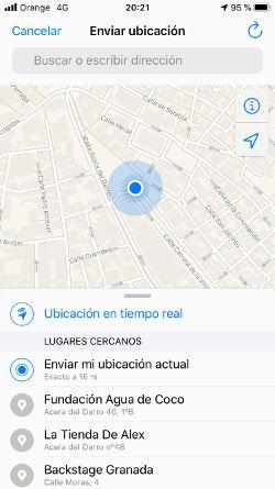 ubicar celular por whatsapp