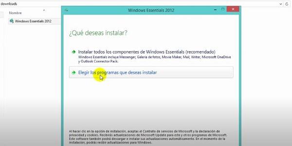 Movie Maker en Windows 10 (Paso 2)