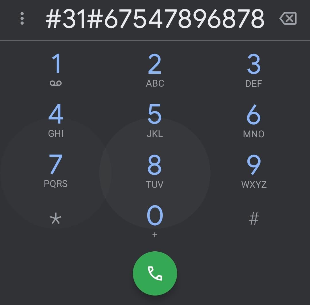 como llamar con numero oculto