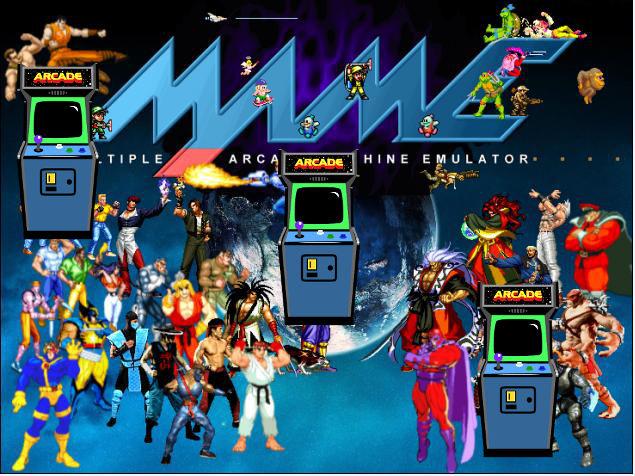 emulador arcade mame