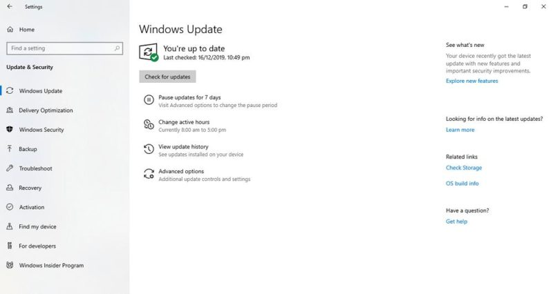 Windows Update se queda buscando actualizaciones