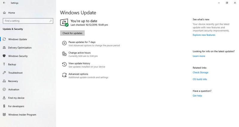 Windows Update se queda buscando actualizaciones