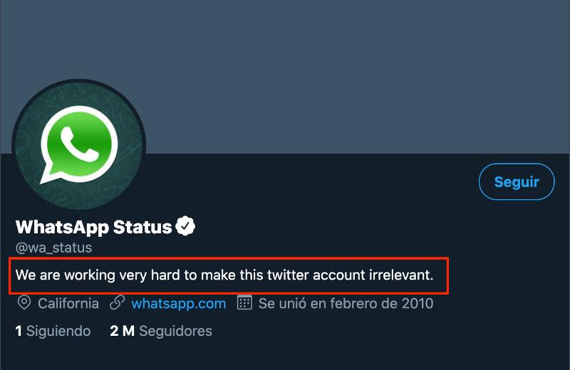 esta whatsapp caído