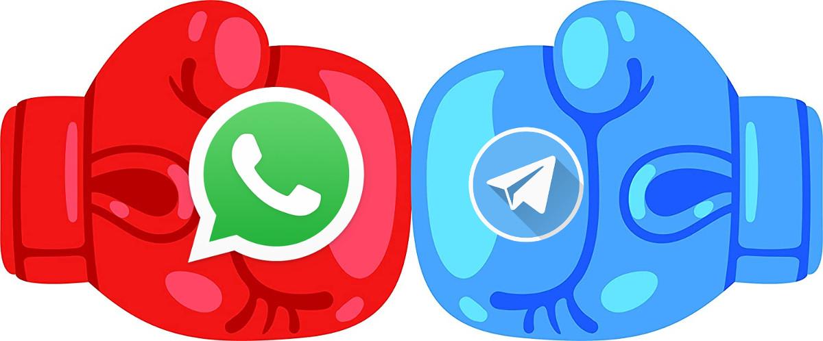 whatsapp vs telegram, cual es mejor y por que