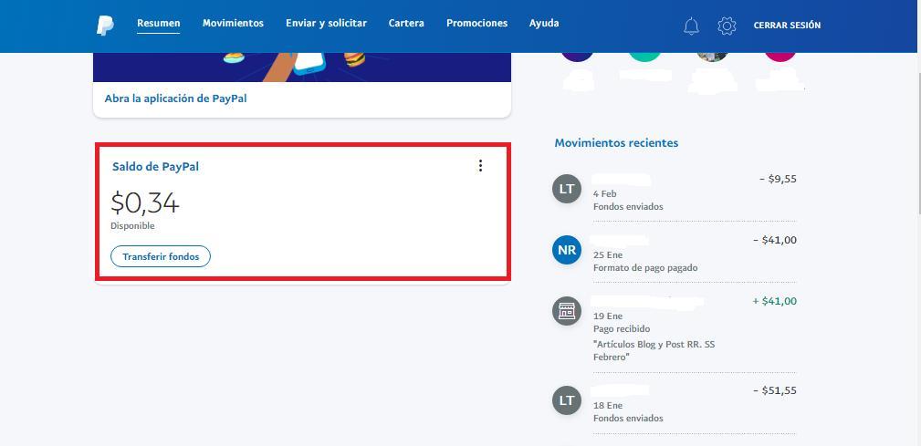Verifica tu saldo antes de eliminar tu cuenta de PayPal