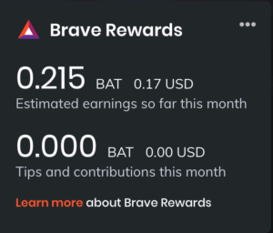 recompensas navegador brave bat