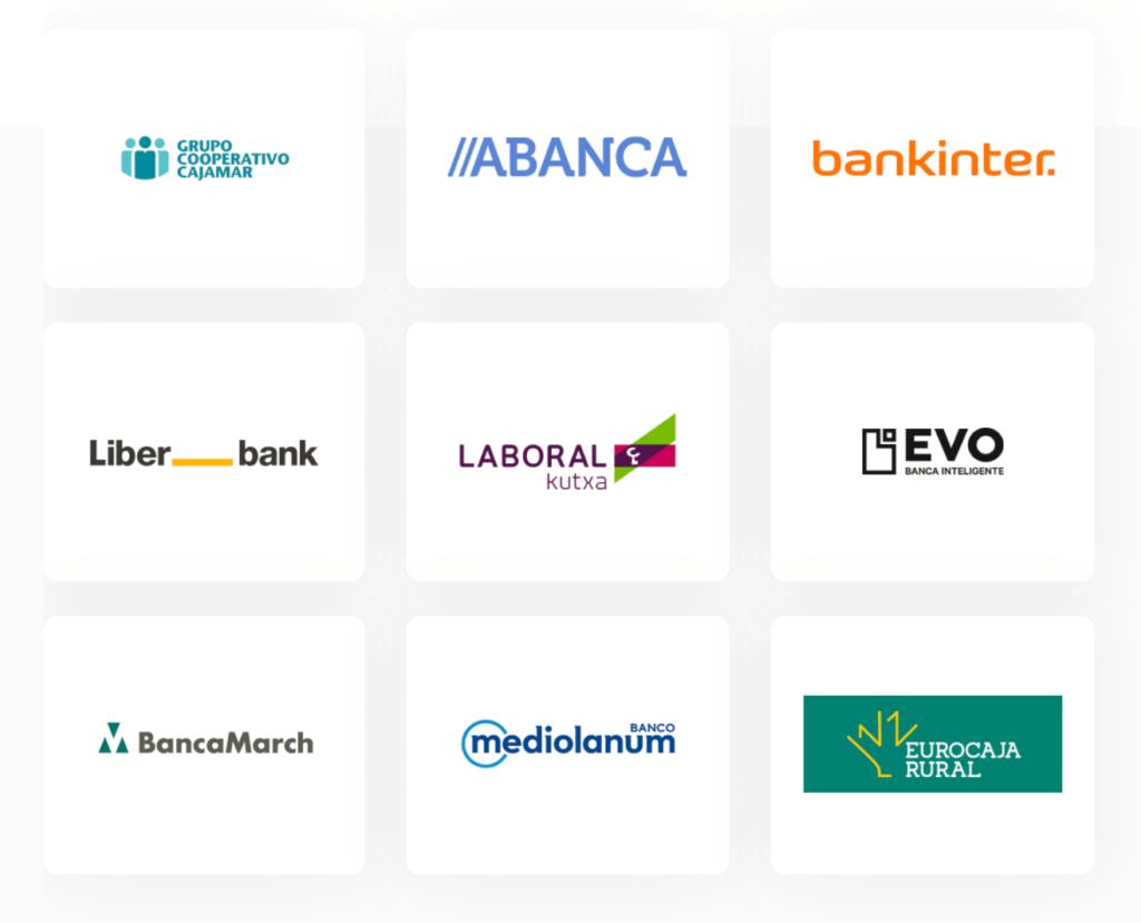 otros bancos que aceptan bizum