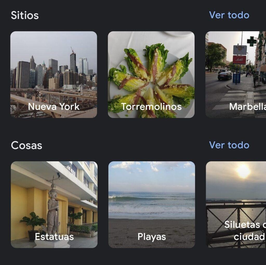 localizacion gps con google photos